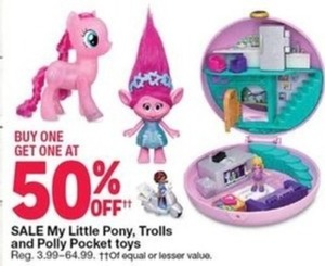 My Little Pony, Trolls, and Polly Pocket Toys