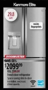 Kenmore Elite French Door Refrigerator