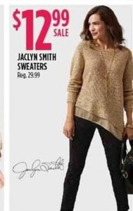 Jaclyn Smith Sweaters