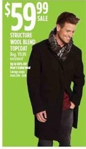Structure Wool Blend Topcoat