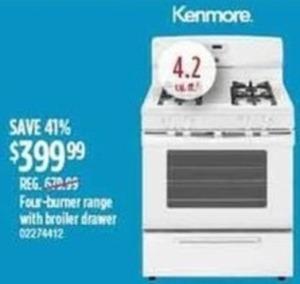 Kenmore 4.2 cu. ft. Oven