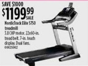 NordicTrack Elite 5750 Treadmill