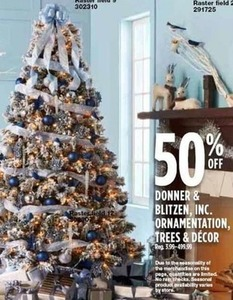 Donner & Blitzen, Inc. Ornamentation, Trees & Decor