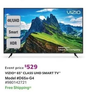 """Vizio 65"""" Class UHD Smart TV"""