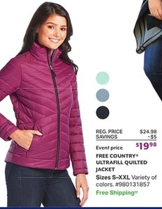 Free Country Ultrafill Quilted Jacket