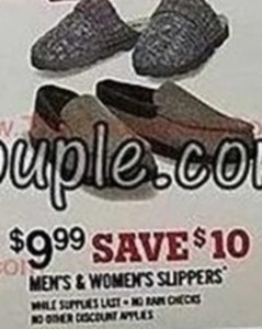 Men's & Women's Slippers