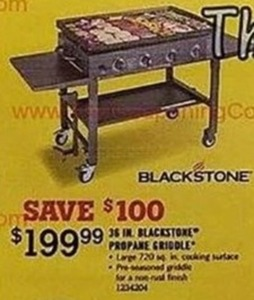 Blackstone Propane Griddle