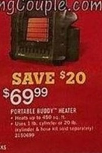 Portable Buddy Heater