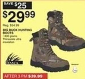 Big Buck Hunting Boots