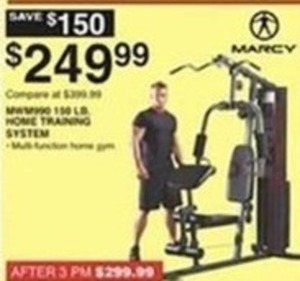 Marcy 150lb Home Training System