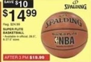 Spalding Super Flute Basketball