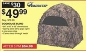 Amerstep Doghouse Blind