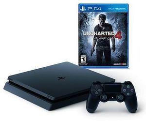 PS4 Slim 500GB Uncharted 4 Bundle + $75 Kohl's Cash