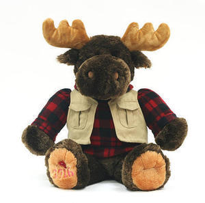 2016 Christmas Collectible Plush Moose