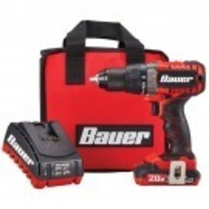 Bauer 20V Hypermax Lithium 1/2 in. Drill/Driver Kit
