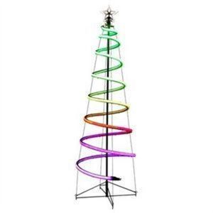 6' Neon Flex Spiral Tree