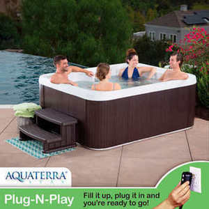 Aquaterra Spas Adriana 21-jet, 4-person Spa