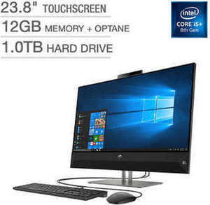 "HP Pavilion 23.8"" Touchscreen All-in-One Desktop - Intel Core i5+ - 1080p"