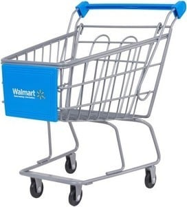 "My Life As Shopping Cart, Walmart Logo, for 18"" Dolls"