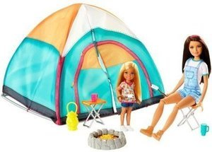 Barbie Camping Fun Doll and Tent