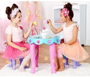 A Very Fancy Nancy Tea Party includes Table and Chairs and Tea Set - Walmart Exclusive