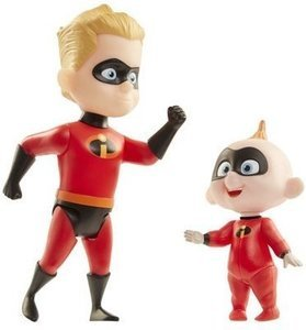 Incredibles 2 Champion Series Action Figures - Dash & Jack