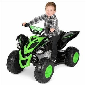 12 Volt Yamaha Raptor Black/Green