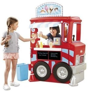 Little Tikes 2-in-1 Food Truck w/40+ Piece Accessory Set