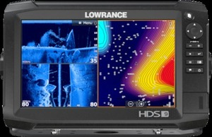 Lowrance HDS-9 Carbon Fishfinder Chartplotter w/TotalScan