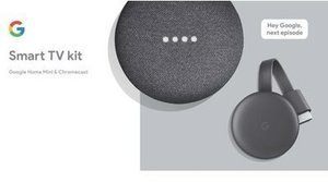 Google Smart TV Kit: Google Home Mini and Chromecast
