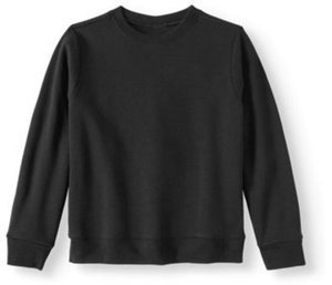 Boys' Pullover Crew Neck Fleece Sweatshirt