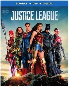 Justice League (Blu-ray + DVD + Digital) & More Selected Movies