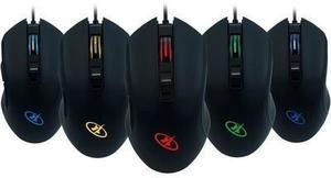 Rosewill NEON M57- 4000 dpi RGB Backlit Optical Wired Gaming Mouse