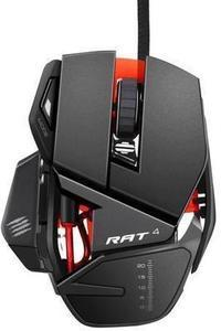 Mad Catz RAT4 Wired Optical Adjustable Gaming Mouse