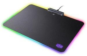 Cooler Master MasterAccessory RGB Hard Gaming Mousepad with Optimized Surface, Non-Slip Grips, and Nine RGB Presets Cooler Master RGB Hard Gaming Mousepad (After Rebate)