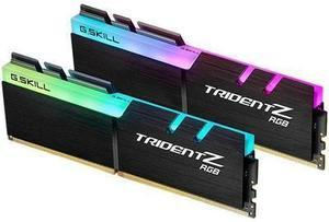 G.SKILL Trident Z RGB (For AMD) 16GB (2 x 8GB) 288-Pin DDR4 SDRAM DDR4 3600 (PC4 28800) Desktop Memory Model F4-3600C18D-16GTZRX