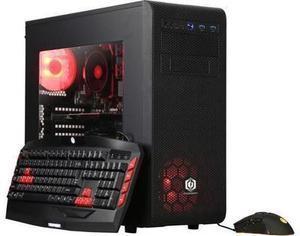 CyberpowerPC Desktop Computer Gamer Master 2063 Ryzen 5 2nd Gen 2600 (3.40 GHz) 8 GB DDR4 1 TB HDD NVIDIA GeForce GT 1030 Windows 10 Home 64-Bit