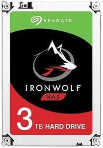 "Seagate ST3000VN007 IronWolf 3TB NAS Hard Drive 5900 RPM 64MB Cache SATA 6.0Gb/s 3.5"" Internal Hard Drive"