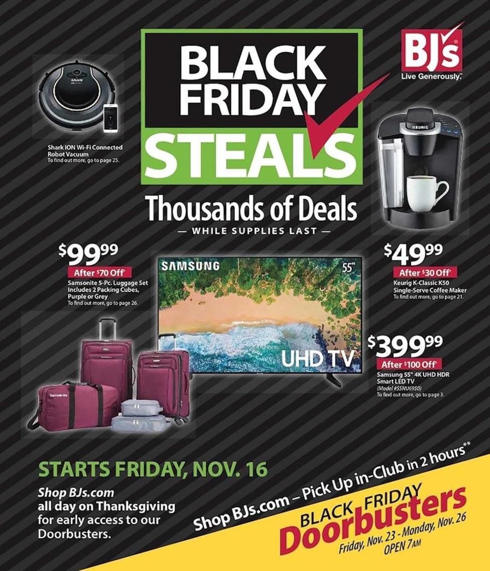Bjs Wholesale Club Black Friday 2019 Ad Scan